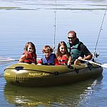 Airhead ANGLER BAY 4-Person Inflatable Boat $137