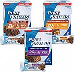18-Pack Pure Protein Bars $9.94