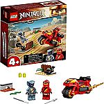 LEGO NINJAGO Legacy Kai's Blade Cycle Ninja Motorcycle (71734) $7