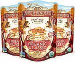 3-Pk 16-oz Birch Benders Organic Classic Pancake & Waffle Mix $8.75
