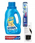 Colgate Cavity Protection Toothpaste 4.0oz, Snuggle Fabric Softener + Oral-B Toothbrush $2.88 and more