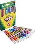 10-ct Crayola Twistables Crayons Coloring Set $2