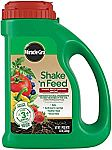 4.5 lbs Miracle-Gro Shake 'N Feed Tomato, Fruit & Vegetable Plant Food $5.50