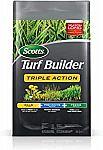 50-lb Scotts Turf Builder Triple Action - Weed Killer & Preventer, Lawn Fertilizer $30