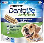 1.5 lbs Purina DentaLife  Adult Dog Chew Treats $6.79