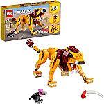 LEGO Creator 3in1 Wild Lion 31112 (224 Pieces) $12