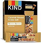 12-Ct KIND Healthy Snack Bar (Caramel Almond & Sea Salt) $8.24