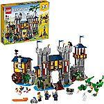 Costco - LEGO Creator Medieval Castle 3-in-1 Building Set (31120) $80