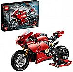 LEGO Ducati Panigale V4 R Motorcycle 42107 (646 Pieces) $56.99