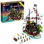 LEGO Ideas Pirates of Barracuda Bay 21322 Pirate Shipwreck Model Building Kit $160