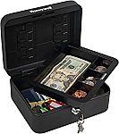 Honeywell Safes & Door Locks Convertible Cash and Security Box $12.35