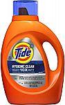92-Oz Tide Liquid Laundry Detergent HE $8.39
