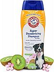 20 fl oz Arm & Hammer Super Deodorizing Shampoo for Dogs $1.29