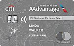 CitiBusiness® / AAdvantage® Platinum Select® Mastercard® - Earn 65,000 bonus miles after qualifying purchase