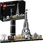 Amazon $10 Off $50 Lego Sets: Skyline Collection 21044 Paris + Baseplate $44.50