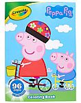 96-Page Crayola Coloring Book w/ Stickers (Peppa Pig, Baby Shark, MLP) $2, Animal Crossing $6