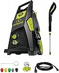 Sun Joe SPX3500 2300-PSI 1.48 GPM Brushless Induction Electric Pressure Washer $150